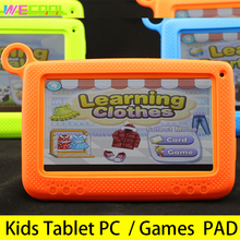 7 inch WeCool Kids Education Tablet PC with Silicon Bracket Case Android 4.4 Quad Core 8GB HD Screen Children Learning PAD