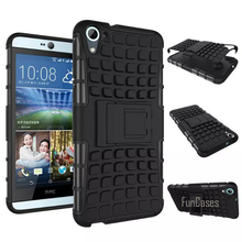 For HTC Desire 826 Case 5.5inch High Quality Hybrid Kickstand Rugged Rubber Armor Hard PC+TPU Stand Function Cover Cases