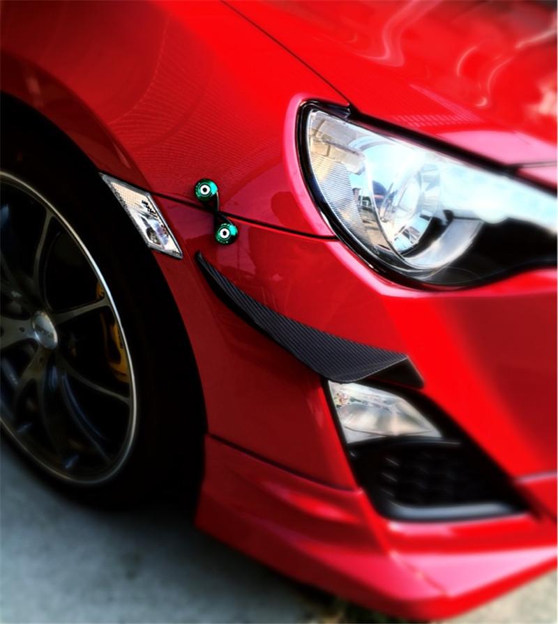 JDM Bumper Quick Release Fastener Kit For Front Rear Bumpers Trunk Hatch Lid Black