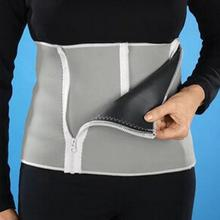 New Adjustable Sauna Slimming Waist Belt Burn Belly Fitness Body Fat Cellulite Burner Shaper For Women Men With 5 Zippers Wrap