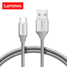 Buy Lenovo Metal Braided USB Type C Cable USB C 2A Cable Quick Charge Data Type-C Cable Samsung Nexus OnePlus Xiaomi Huawei for $3.59 in AliExpress store