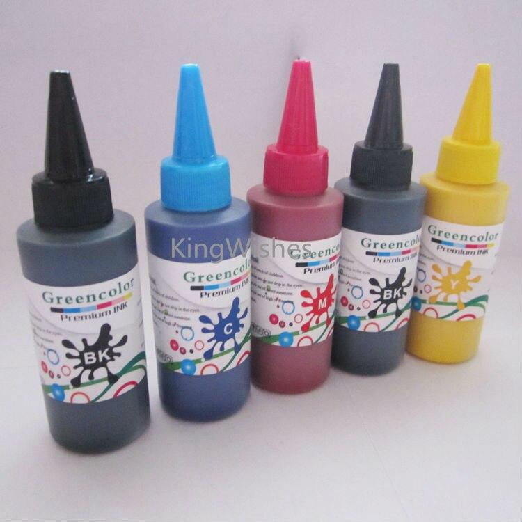5PCS/Lot T2601 T2611 T2612 T2613 T2614 Printer Pigment Ink For Epson XP-600 XP-605 XP-700 XP-800 XP-610 XP-615 XP-710 XP-810<br>