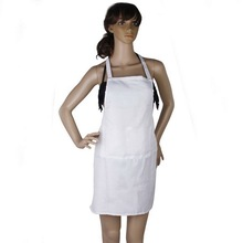 Fashion Kitchen Apron White Women Apron Cooking Chef Restaurant Waitress Apron Best Gift Aprons Wholesale(China)