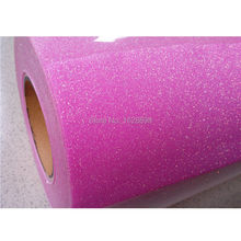 Brightly glitter CDG-13 holo pink for DIY children clothes / garments heat transfer vinyl
