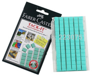 Hot High Quality Faber Castell Tack it Blu-tack Reusable Adhesive Blue Tac 2 sheets/lot