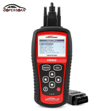 Professional Car Tester OBD KONNWEI KW808 OBD2 OBDII EOBD Auto Scanner Diagnostic Code Reader CAN Engine Reset Tool Free Shiping