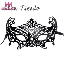 1PCS Women Sexy Lace Eye Mask Party Masks For Masquerade Halloween Venetian Costumes Carnival Mask For Anonymous Mardi(China)