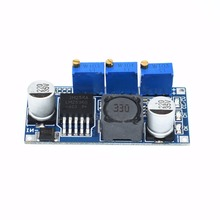 TENSTAR ROBOT 1PC LM2596 LED Driver DC-DC Step-down Adjustable CC/CV Power Supply Module(China)