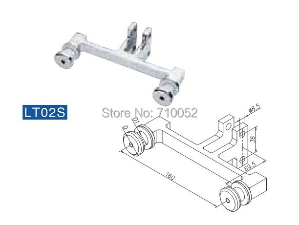 for glass Balustrade fittings(Similar to FF-04) LT02S 304 stainless steel<br><br>Aliexpress