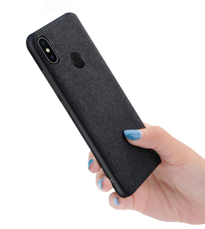 Xiaomi Redmi Note 5 case cover note5 Global Version back cover silicone edge fabric case coque MOFi Redmi note 5 pro case