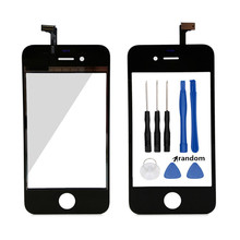 For apple 4 4s Touch Screen Digitizer glass Lens Sensor Replacement parts for iphone 4 4s 5 5g 5s 6 6s mobile phone touch panel