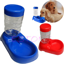Pet Cat Dog Bowl Automatic 500mL Bottle Water Drinking Dispenser Feeder Fountain(China)