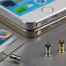 Universal 3.5mm Earphone Jack Phone Dust Resist Plug Dustproof Cap Gadget For Iphone 5 6 7 plus For Samsung S7 Edge S6 J5 MN285