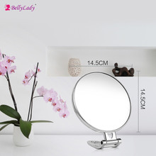 BellyLady Makeup Mirror Makeup Tools Round Mini Mirror portable beauty mirror can be hanging 2017 new fashion