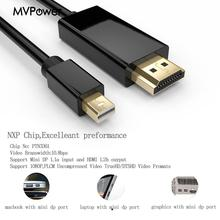 3M Mini Display Port to HDMI TV HDTV Cable Cord Audio Video Cables for MacBook Pro for iMac Portable