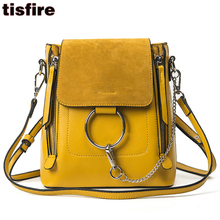 women famous designer backpack functional bag one shoulder backpack suede leather fashion school bags for teenager chain bagpack(China)