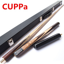 High Quality Cuppa 3/4 Snooker Cues Stick Pool Cue Maple Shafts Billar stick 9.8mm/11.5mm Tip With Snooker Cue Case Set(China)