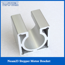 NEMA 23 Stepper Motor Accessories Mounts Bracket Support Shelf nema23 Stepping Motor Mounting Bracket New Design High Quality(China)