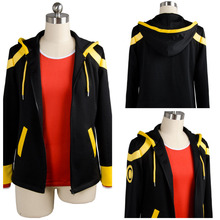Hot Game Mystic Messenger 707 Top Cosplay Costume Adult Halloween Costumes T shirt Jacket Custom Made(China)