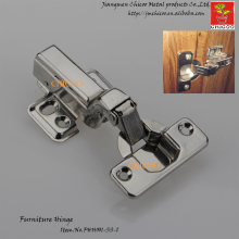 door Hinge Stainless steel 304 Embed Hydraulic furniture hinge conceal adjustable inset kitchen cabinet hinges