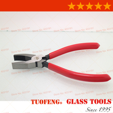 Art Glass Pliers With Flat Nose and Tooth /rounding glass pliers