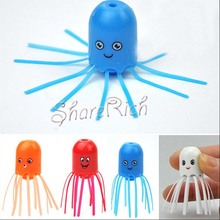 4 pcs Good quality Chrismas present Magical Smile Jellyfish Toy Electronic Kid Learning Gift Pattern Color Random UT(China)