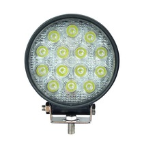42W Round LED Work Light Spot Beam Driving Lamp Offroad UTE ATV Jeep SUV 4WD 4x4,Wholesale Factory Price Car Replacement Parts