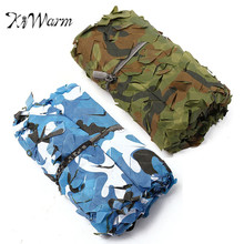 KiWarm 5x2m Outdoor Camo Net Military Camouflage Netting Mesh Games Hide Camouflage Net Hunting Camping Net Garden Car Cover