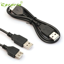 CARPRIE Data M/F Adapter Cable 2ft/60cm Black USB Male to A Female Extension Extender Mar9 MotherLander