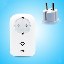 New Remote socket EU Standard Smart Portable Power Socket Switch Travel Remote Plug 16A Socket Smart Home Appliance Hot  Sell