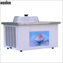 Xeoleo Commercial Fried ice cream machine Desktop Single pot Fry ice machine Single pot Yogurt Fried machine 8L/h 220V Fry Yogur