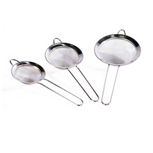3pcs/set Mesh Strainers Stainless Steel Colander Cooking Tools Soup Skimmer Scoop Colander Kitchen Accessories Oil Filter Spoon