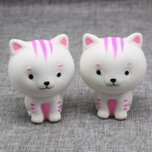 8.5CM Kawaii Cat Pussy Squishy Toy Slow Rising Phone Straps Soft Squeeze Animal Bread Charms Scented Kid Xmas Toy
