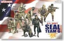 1/35 scale model Dragon 3028 US Navy SEAL 6th Team(China)