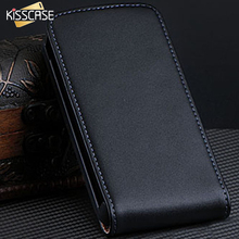 KISSCASE 3GS Capa Luxury PU Leather Protective Case For iPhone 3G 3GS Vintage Vertical Magnetic Flip Cover Free Shipping Bag