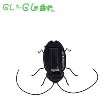 Kids Solar Toys Power Energy Solar Cockroach six Legs Black Children Insect Bug Teaching Fun Gadget Toy Gift For Kids