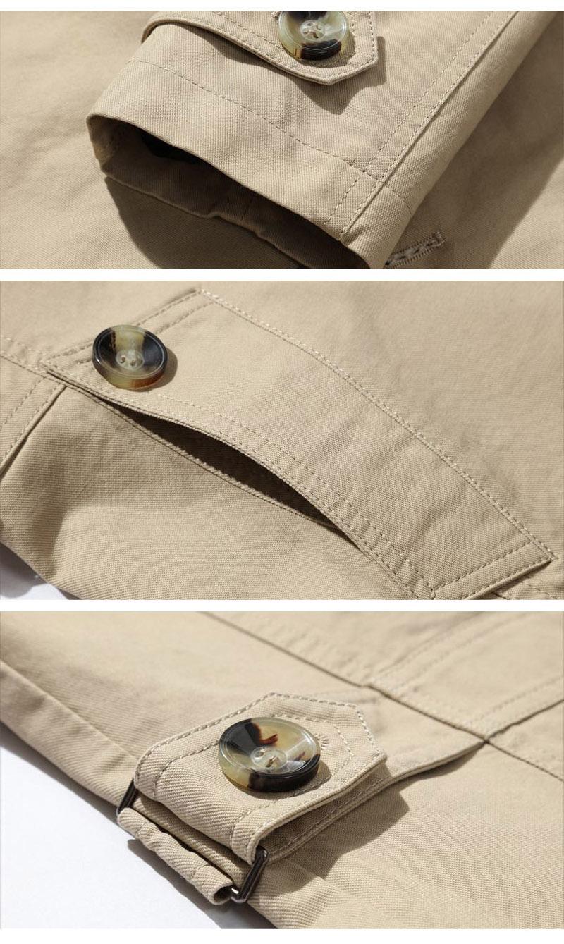 Korean Overcoat Khaki Black PLus size XXXL XXXXL 5XL british style Slim fit trench coat long men New Spring 2017 man Windbreaker (7)