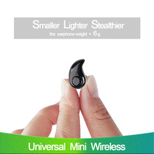 S530 Mini Bluetooth Earphone 4.0 Stealth In-Ear Wireless Portable Earpiece Hands-free Headset With Mic Stereo Music for phone TV