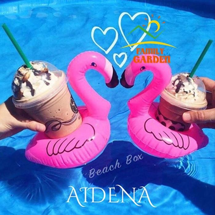 Aufblasbare Flamingo Cola Getränke Tasse Halter Aufblasbare Mini Flamingo  Trinken Pool Schwimmende Preis Für 2 Stücke