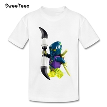 Legoe Ninjago Children T Shirt 100% Cotton O Neck Short Sleeve Kid Toddler Tshirt Tee Shirt Boys Girls 2017 T-shirt For Baby(China)