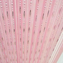 Window Room String Curtain Chain Beads Fringe Panel Divider Tassel Candy Colors