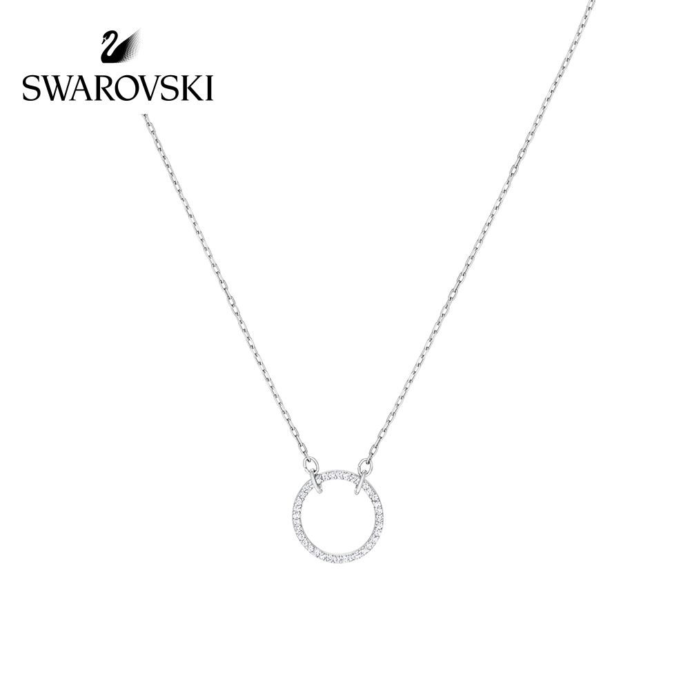 Original Genuine Swarovski ONLY necklace womens pendant necklaces crystal clavicle necklace fine choker jewelry5465802
