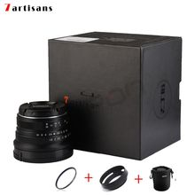 Buy 7artisans 25mm / F1.8 Prime Lens Single Series Sony E Mount /Canon EOS-M Mount/Fuji FX Mount /M43 Panasonic Olympus for $69.99 in AliExpress store