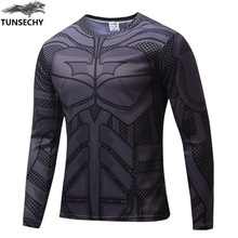 2017 Fashion Comic Marvel Deadpool T shirt Costume Compression Sportswear Superhero Fitness  Camisetas Masculinas Quick Dry