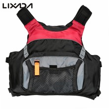 Professional Adult Safety Life Jacket Swimming Kayaking Boating Drifting Survival Vest  with Emergency Whistle 3 Sizes