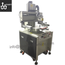 semi-automatic flat bed silk screen printer, screen printer machine for uv ink