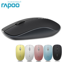 Rapoo 3520P 5G Optical Wireless Mouse USB Gaming Mice with Super Slim Portable Mini Receiver Mice For Laptop Computer Home Mouse