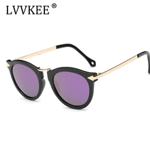 LVVKEE brand design women Polarized Sunglasses arrow cat driving sunglasses gradient lens UV400 with original packaging