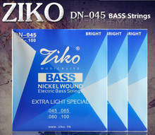 3sets/lot 045-100 DN-045 ZIKO bass guitar strings guitar parts wholesale musical instruments Accessories