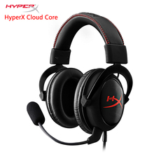 KINGSTON HyperX Cloud series Core Gaming Headset Suitable for computer phone tablet Headphones With microphone(China)